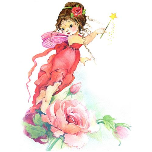 1841/Н Набор для вышивания Матренин Посад 'Фея Роза' 28*37см