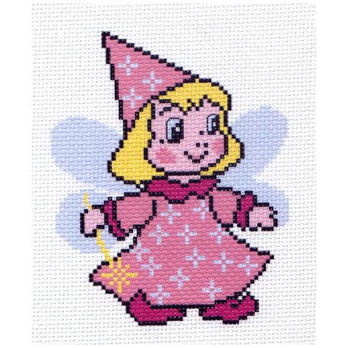 0275 Канва с рисунком Матренин посад 'Маленькая фея' 16*20 см (10*12 см)