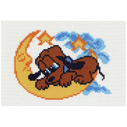 0929 Канва с рисунком Матренин посад 'Лунная колыбель' 16*20 см (10*12 см)
