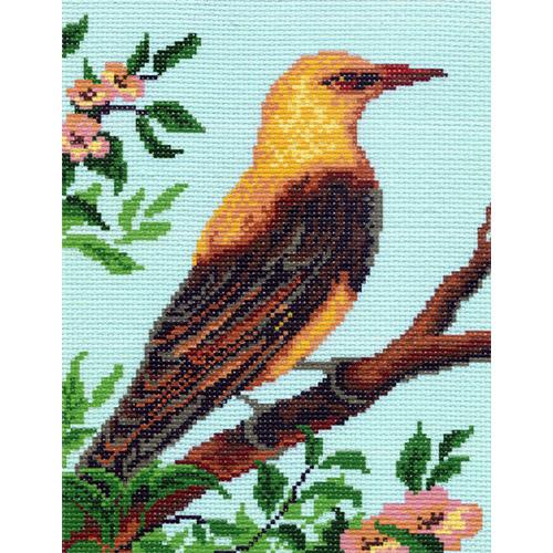 0354 Канва с рисунком Матренин посад 'Птичка' 24*30см