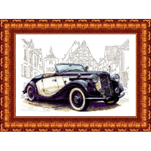 КК 032 Канва с рисунком Каролинка 'Прага Леди' 23*30см