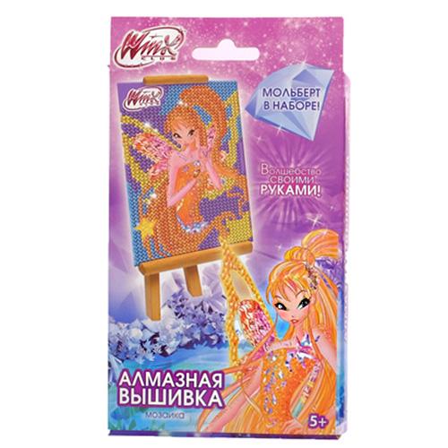 2873975 Алмазная мозаика для детей Феи ВИНКС: Стелла
