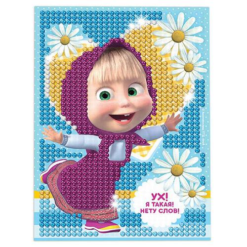 3045433 Алмазная мозаика для детей 'Я такая!' Маша и Медведь