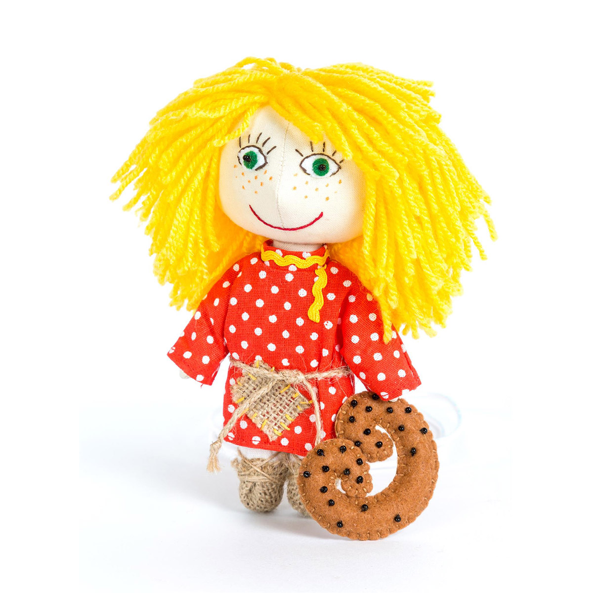 ПЛДК-1451 Набор для создания текстильной игрушки серия Домовёнок и компания 'Домовёнок'