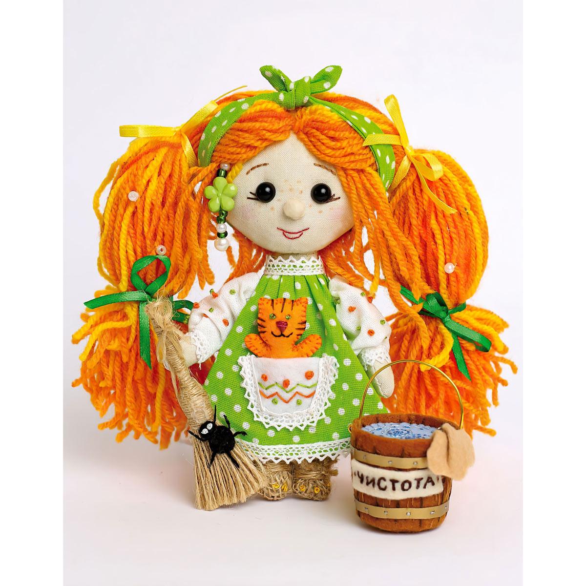ПЛДК-1452 Набор для создания текстильной игрушки серия Домовёнок и компания 'Хозяюшка'