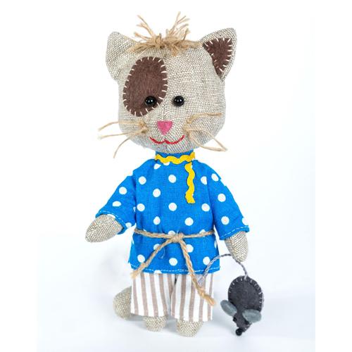ПЛДК-1454 Набор для создания текстильной игрушки серия Домовёнок и компания 'Домовитый кот Василий'