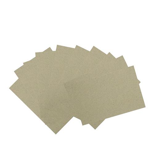 2497933 Переплетный картон для творчества (набор 10 листов) 10х15 см, толщина 0,7 мм, (серый)