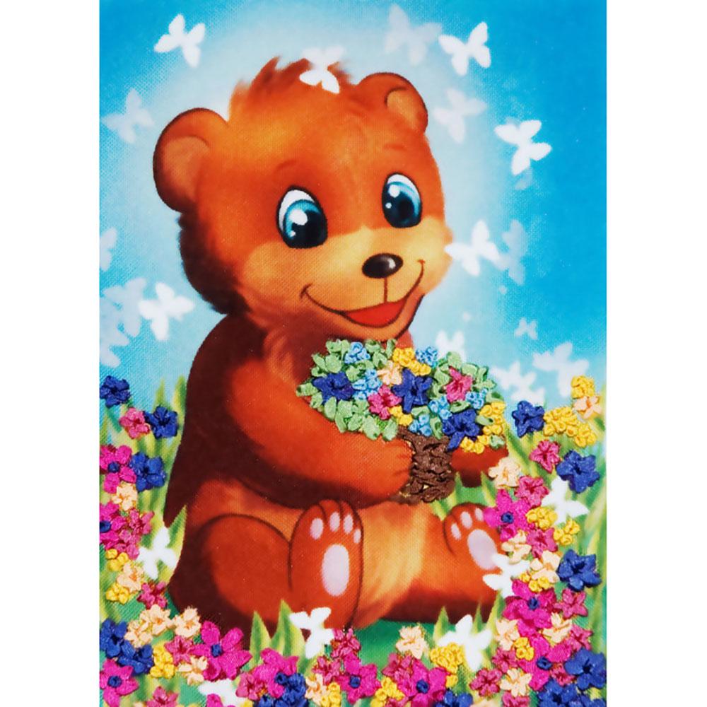д-01 Набор для вышивания 'Медвежонок'