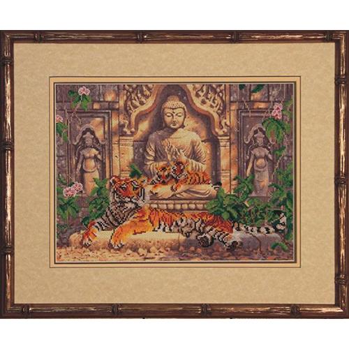 31110 Набор для вышивания Краса и творчество 'Древний храм' 34,5*25,6 см