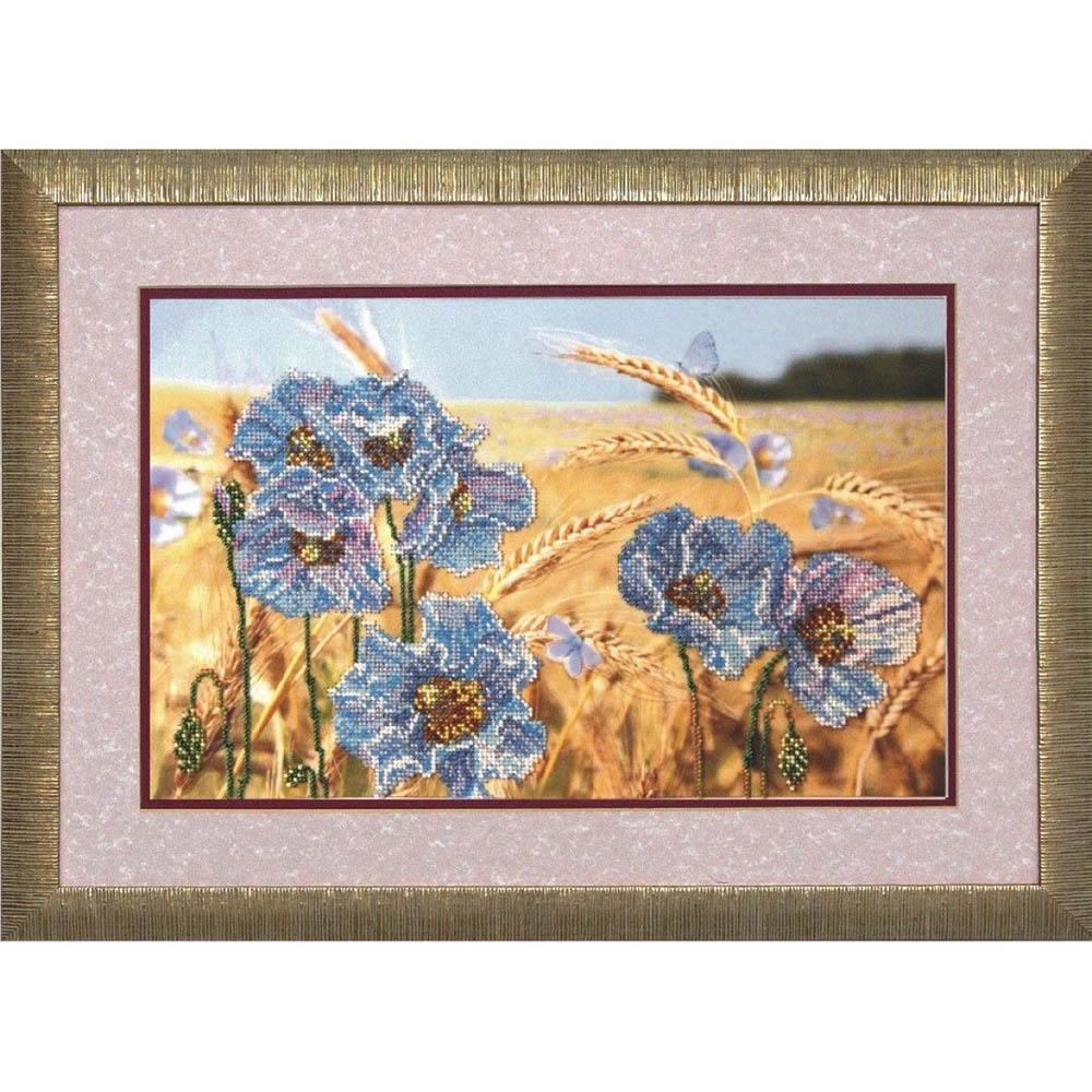 40511 Набор для вышивания бисером Краса и творчество 'Солнечные ритмы 1' 39*25 см