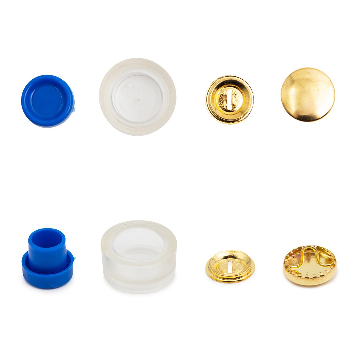 323215 Пуговицы для обтягивания тканью с инстр., 15 мм, упак./6 шт. Prym