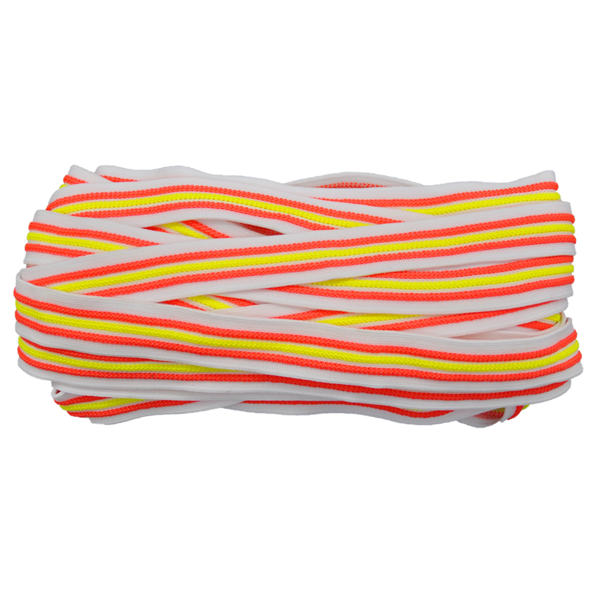 Лента лампасная №99 белый/оранжевый/желтый 2см уп*10м, 2135001348344