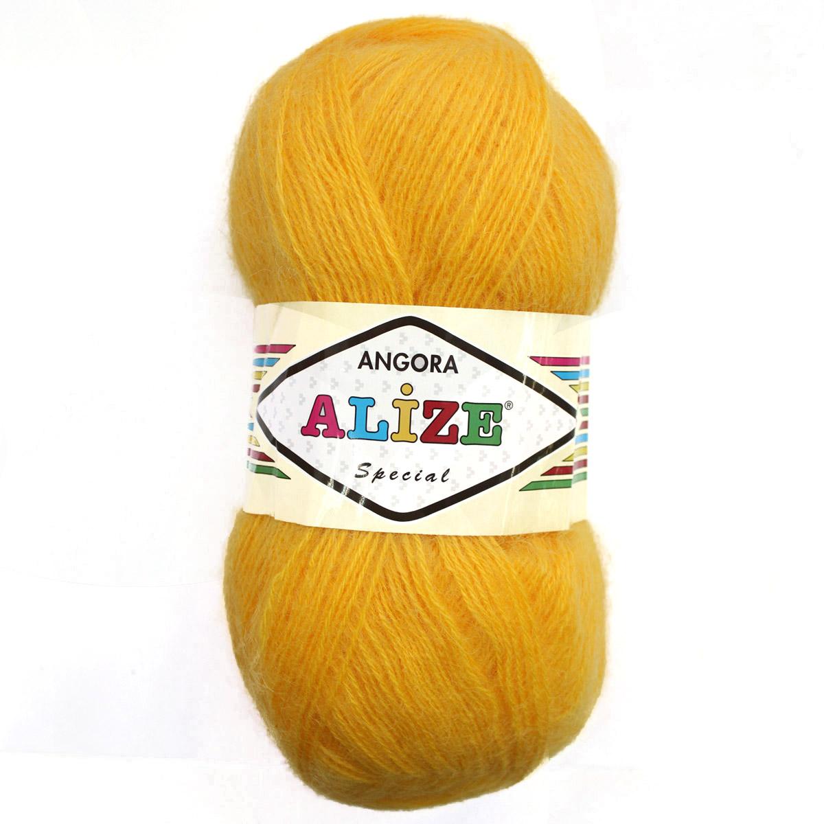 Пряжа ALIZE 'Angora Special' 100гр., 550м (60%мохер, 40%акрил) ТУ