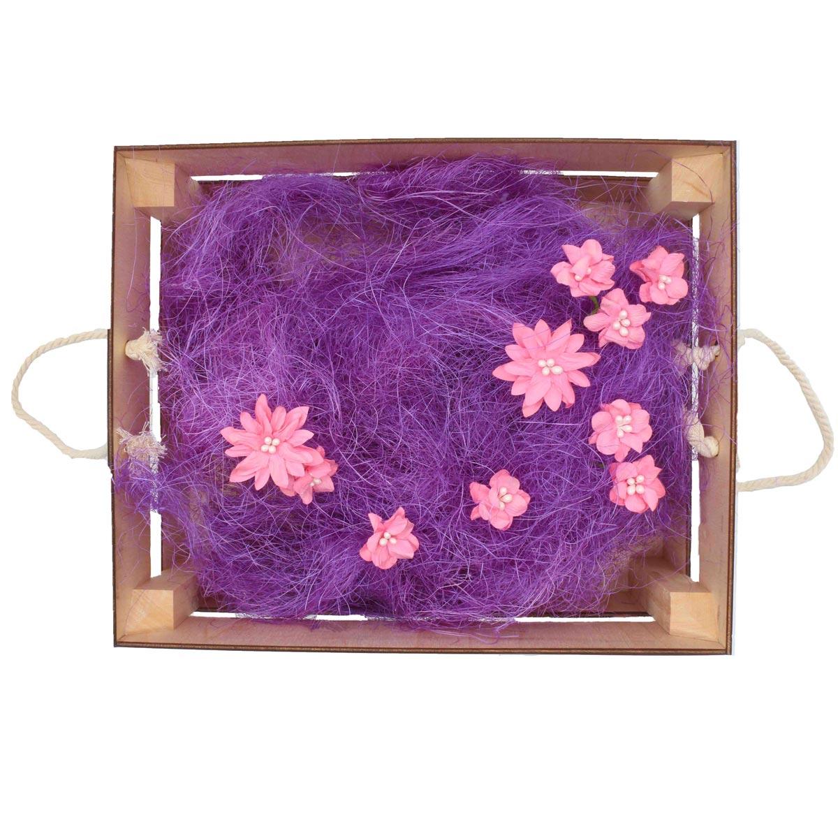 Деревянный ящик для оформления подарка с наполнением №3, 25*30 см