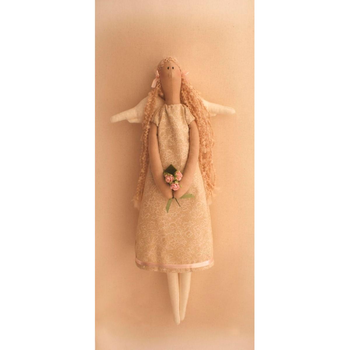 """004 Набор для изготовления текстильной игрушки 45см """"Angels Story"""" (Ваниль)"""