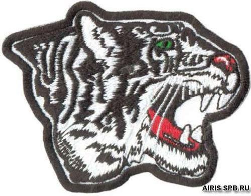 AD1084 Термоаппликация 'Тигр', 6*8 см, Hobby&Pro