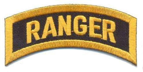 AD1087 Термоаппликация Ranger, 2,5*7,5 см, Hobby&Pro