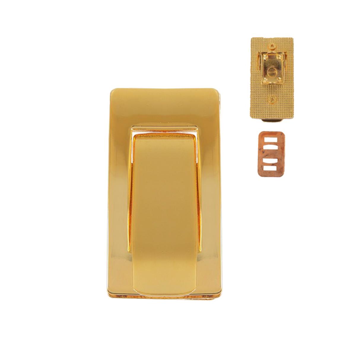 КД 0436 А Застежка 24*47мм, золото