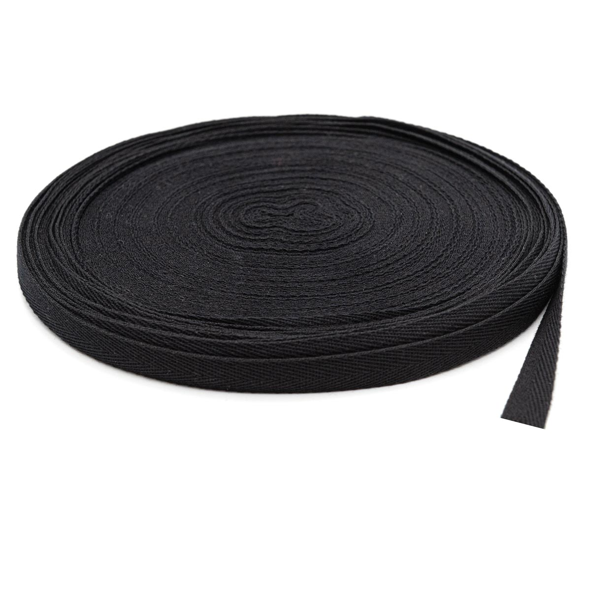 1015Ч Лента киперная х/б 15мм*50м, черная