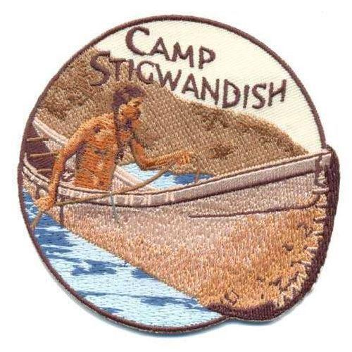 AD1095 Термоаппликация Camp Stigwandish (лагерь), d 9 см, Hobby&Pro