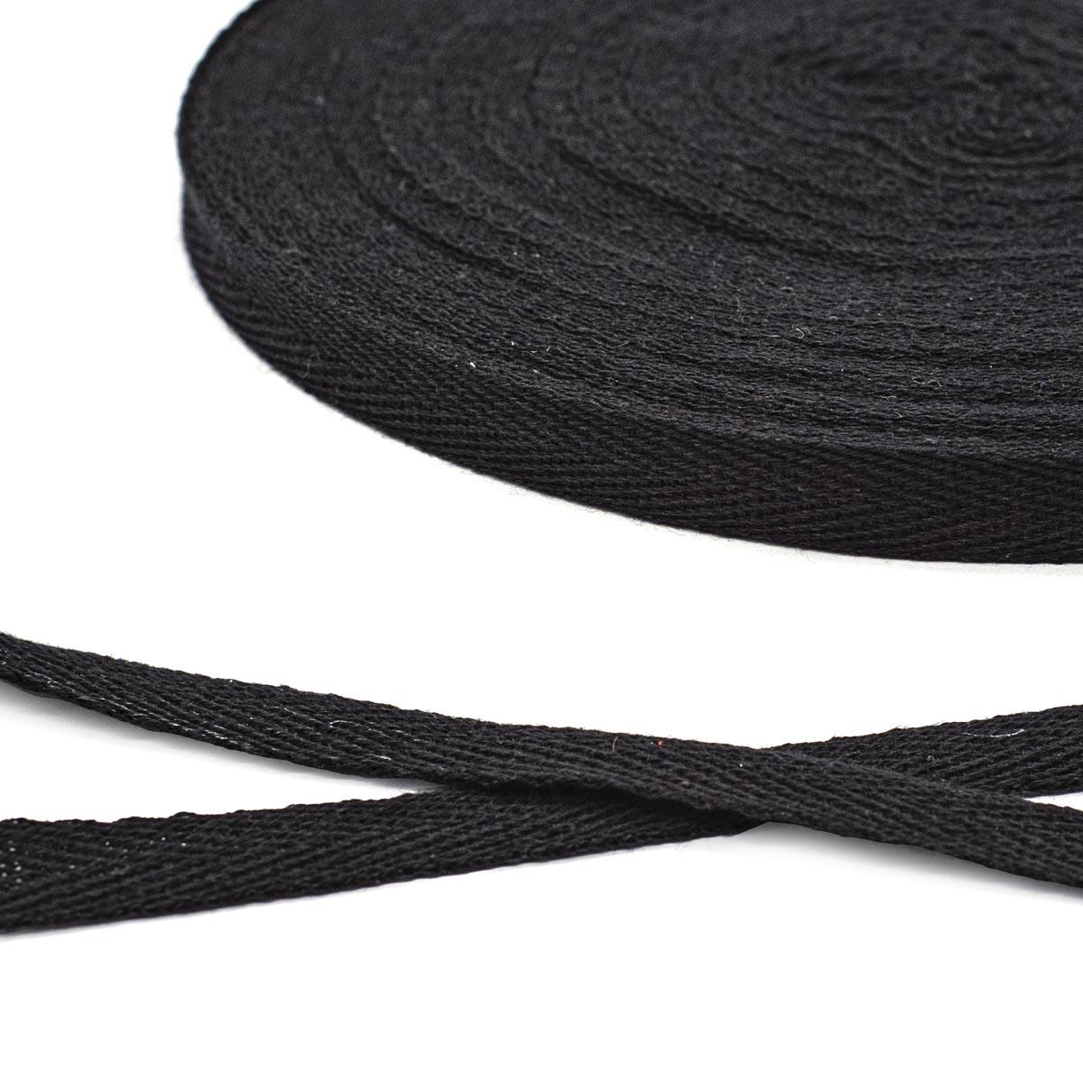 1013Ч Лента киперная х/б 13мм*50м, черная