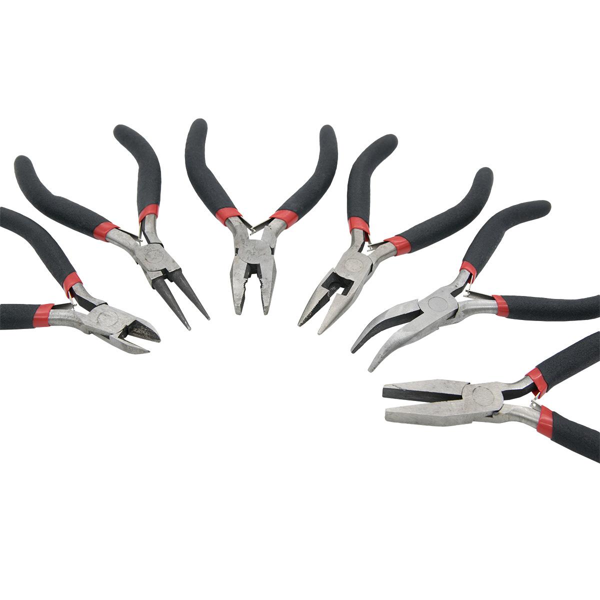 24401 Инструменты для создания бижутерии в чехле, набор/6шт