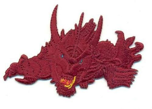 "Термоаппликация AD1101 ""Дракон"", Hobby&Pro"