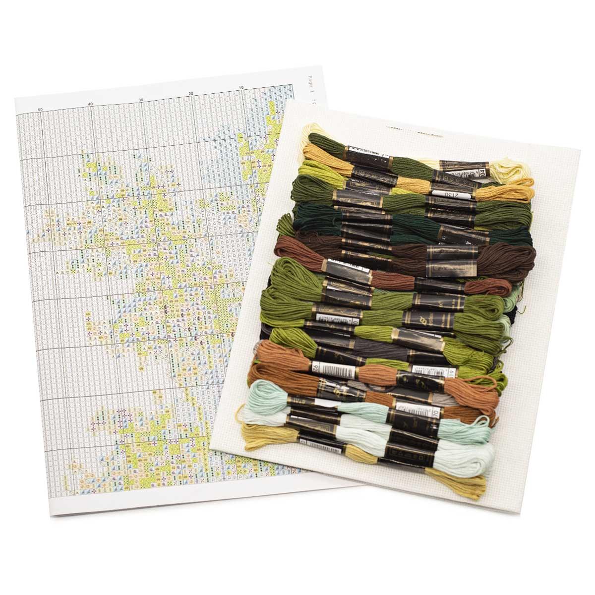 """Набор для вышивания 741 """"Тропинка к реке"""", 31х50 см, Hobby&Pro"""