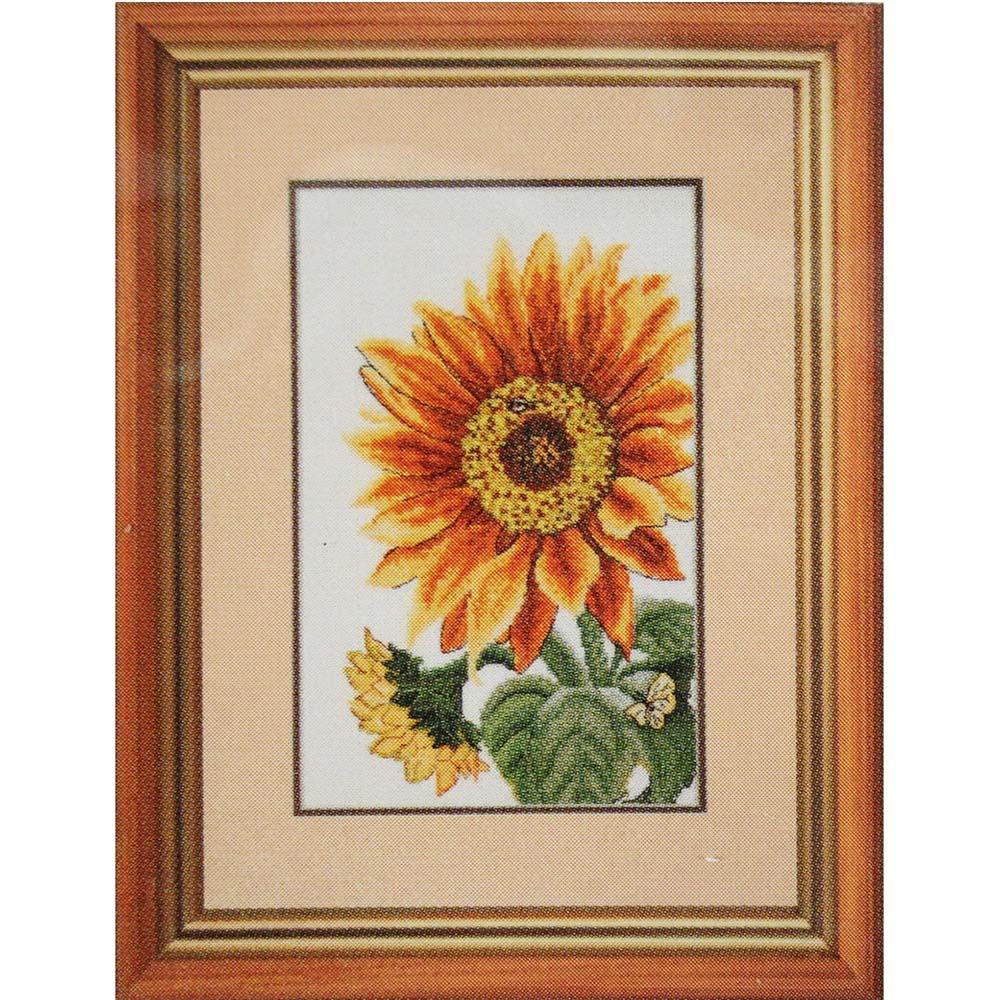 """Набор для вышивания 773 """"Цветок солнца"""", 16х27 см, Hobby&Pro"""