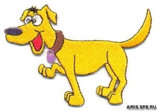 AD1110 Термоаппликация 'Пёс', 5*7 см, Hobby&Pro
