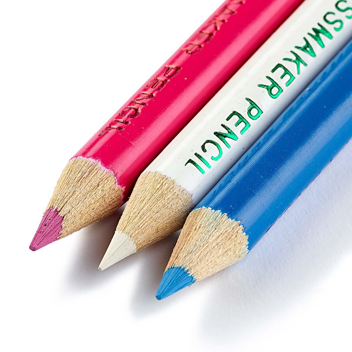 611625 Меловые карандаши 11см белый/белый Prym