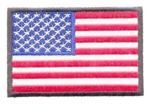 AD1118 Термоаппликация 'Флаг США', 5*7,5 см, Hobby&Pro