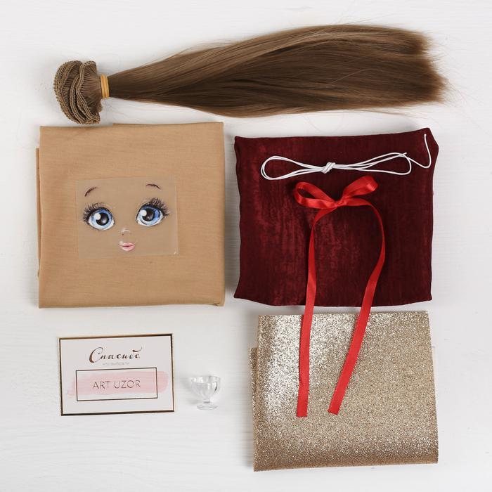 3548682 Интерьерная кукла 'Лорен', набор для шитья, 18*22.5*3 см