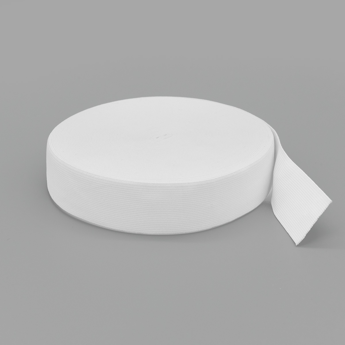 Тесьма эластичная 04СР35 белая