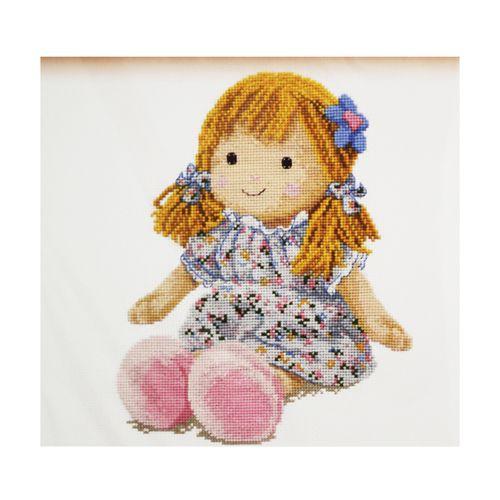 817 Набор для вышивания 'Овен' 'Кукла Маша', 19*25 см