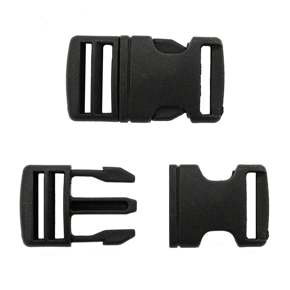 0323-0130 Фастекс 20мм черный, упак (2шт) Hobby&Pro