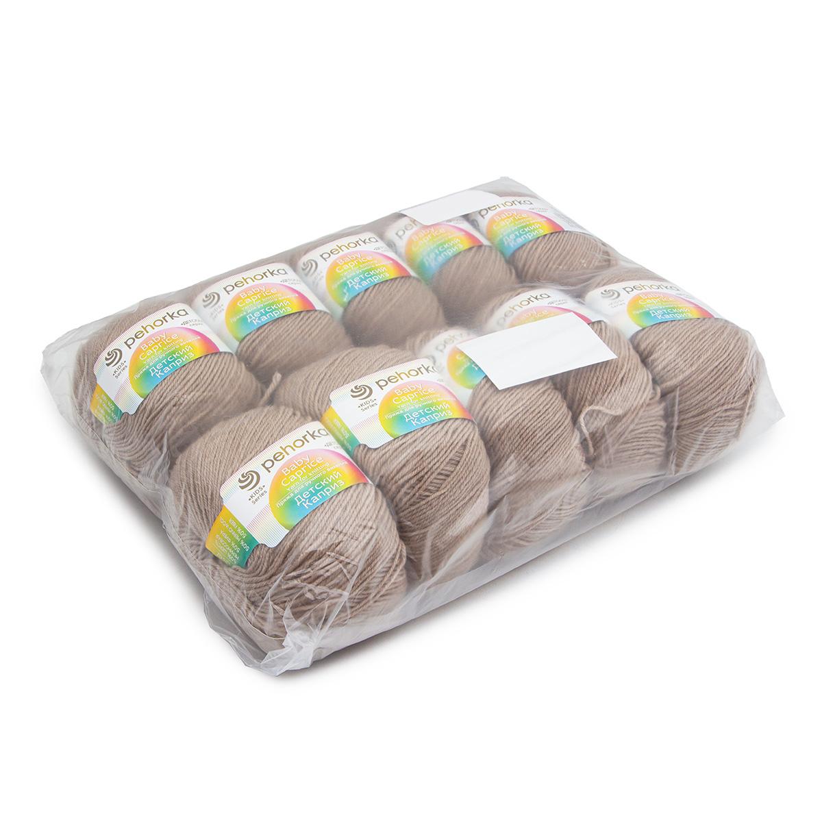 Пряжа Пехорка 'Детский каприз' (50%мериносовая шерсть, 50%фибра)