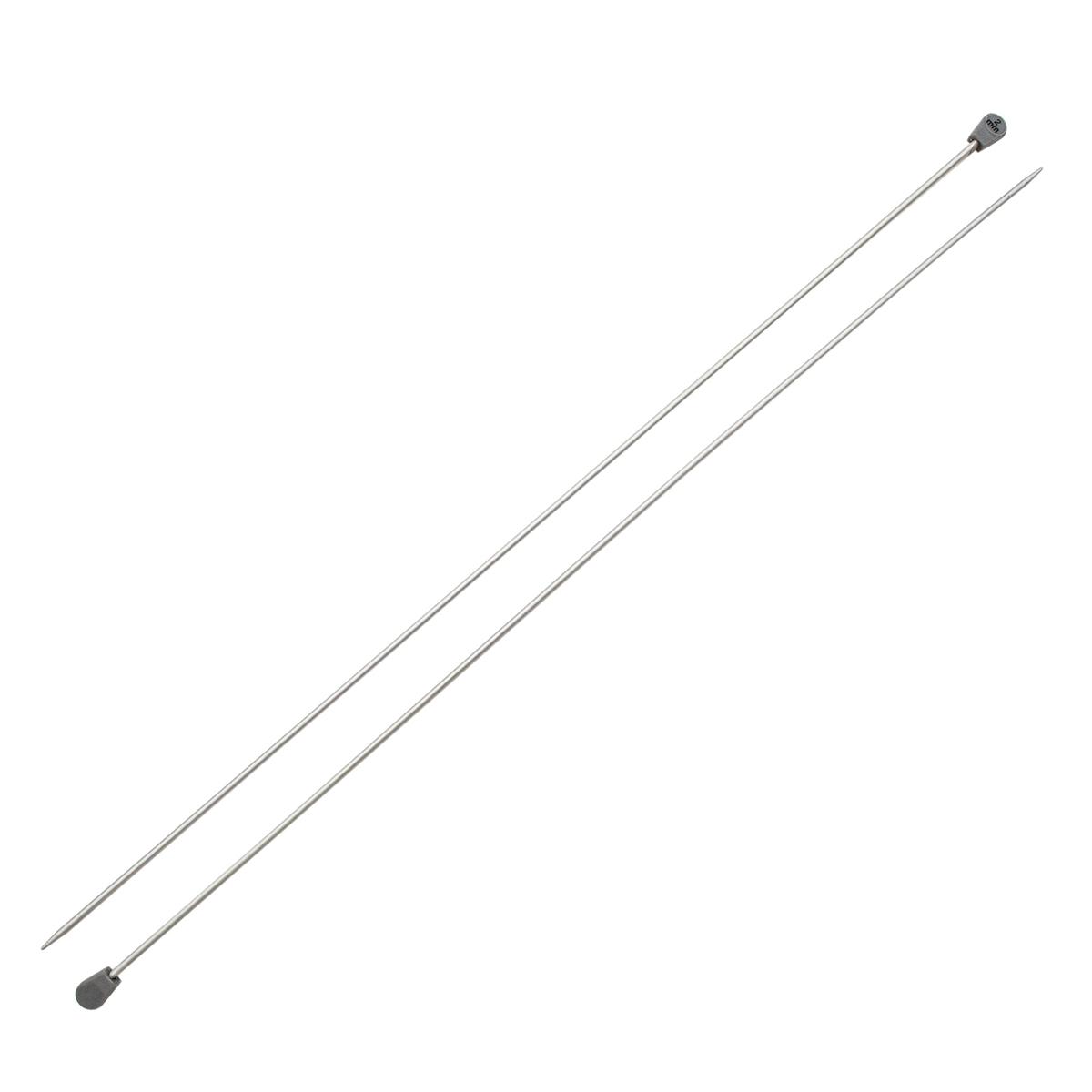 Спицы прямые алюминиевые с покрытием 940220/940202, 35 см, 2,0 мм, Hobby&Pro