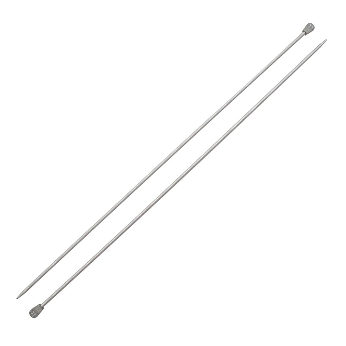940230 Спицы прямые алюминиевые с покрытием 35см, 3,0мм Hobby&Pro