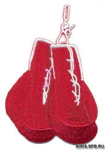 AD1137 Термоаппликация 'Боксёрские перчатки', 7*6 см, Hobby&Pro