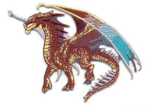 Термоаппликация AD1138 Крылатый дракон, Hobby&Pro