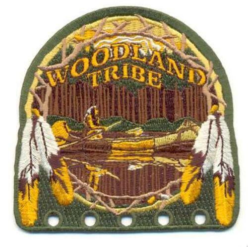 AD1141 Термоаппликация Woodland (земля деревьев), 9*8,5 см, Hobby&Pro