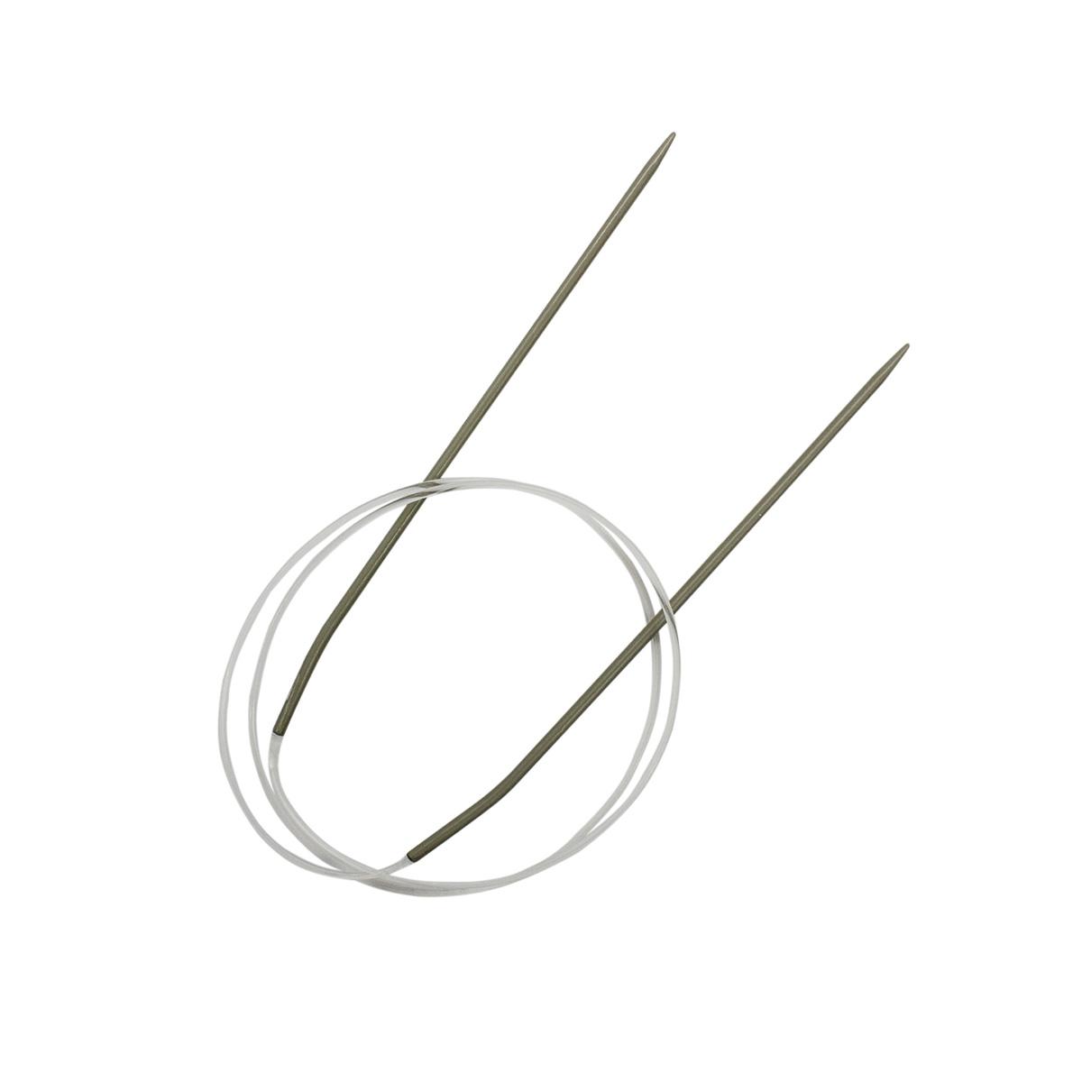 940125 Спицы круговые алюминиевые с покрытием 80см, 2,5мм Hobby&Pro