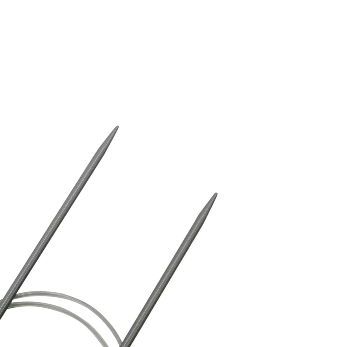 Спицы круговые алюминиевые с покрытием 940135, 80 см, 3,5 мм, Hobby&Pro