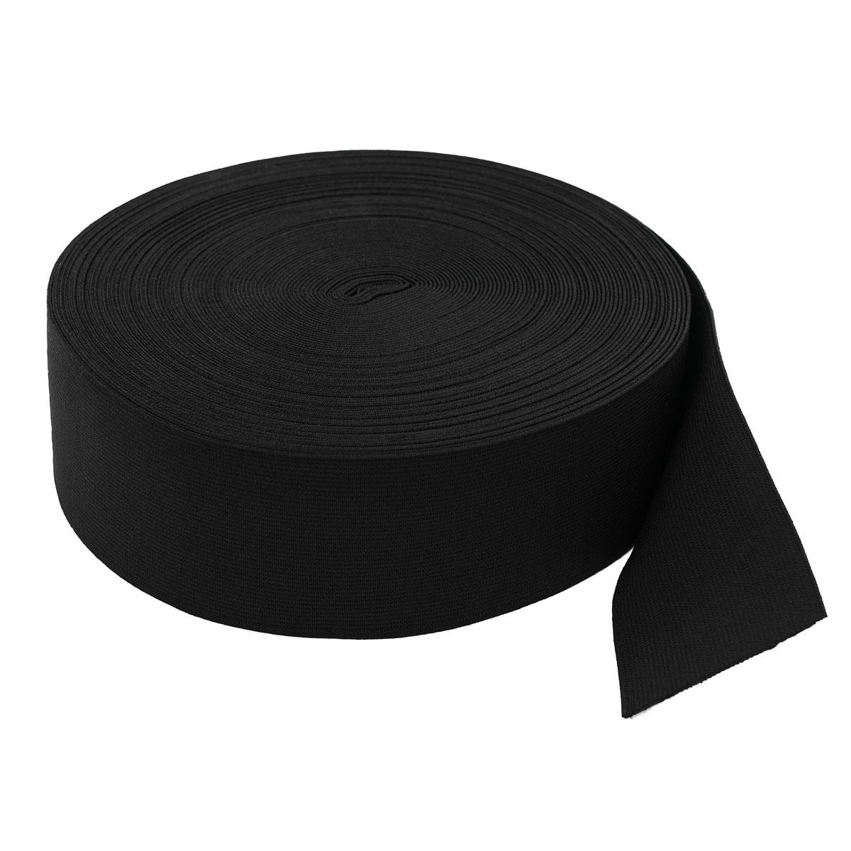 Тесьма эластичная 04СР60 черная