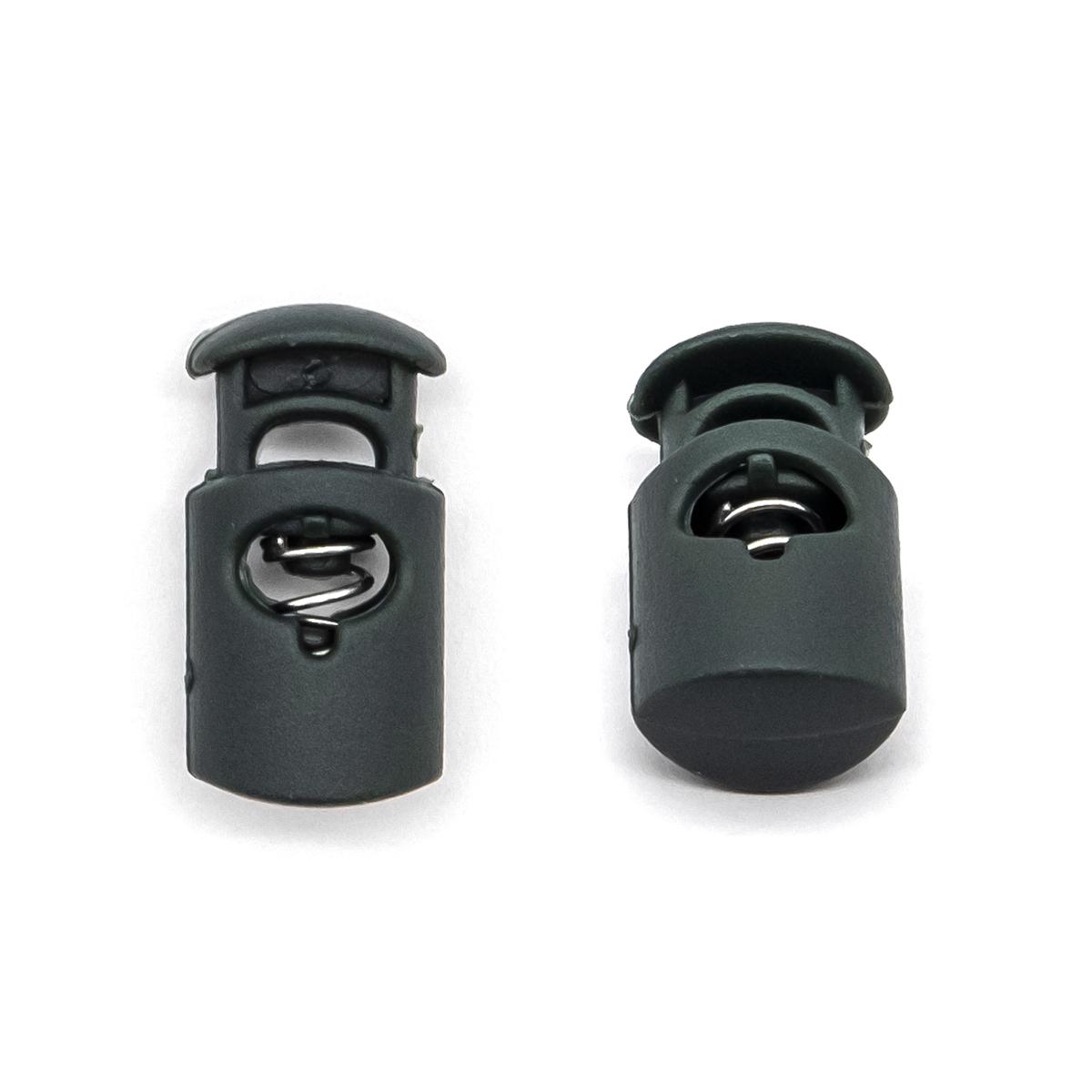 0305-3005 Стопор 'Цилиндр' d=7,5мм, 27*13,5мм, пластик