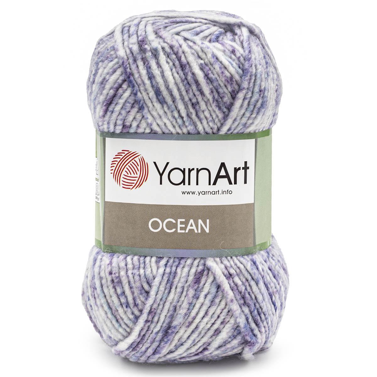 Пряжа YarnArt 'Ocean' 100гр 180м (20% шерсть, 80% акрил)