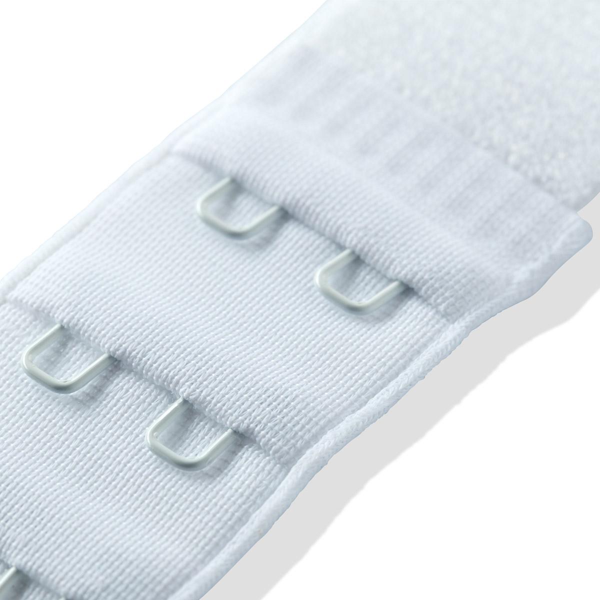 992130 Удлинитель застежки бюстгальтера, белый, 25 мм, 3*2 крючка, Prym
