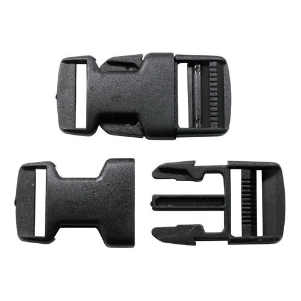 0323-0040 Фастекс, черный, 25 мм