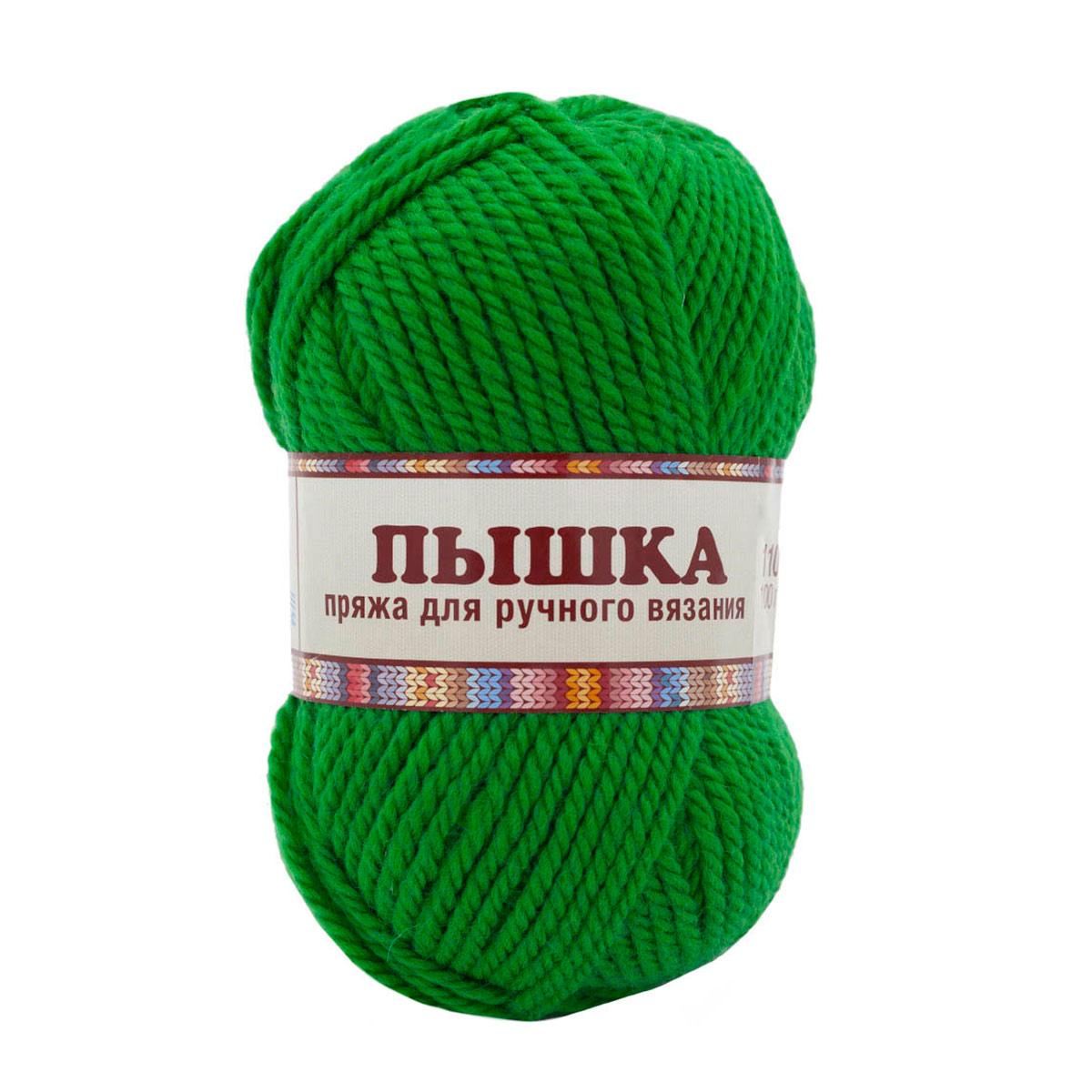 """Пряжа  Камтекс """"Пышка"""" 110м./100г. трава шерсть 100%"""